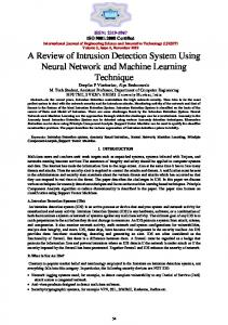 A Review of Intrusion Detection System Using Neural Network and ...