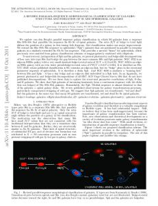 A Revised Parallel-Sequence Morphological Classification of Galaxies ...