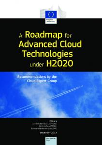 A Roadmap for Advanced Cloud Technologies - Cordis - Europa EU
