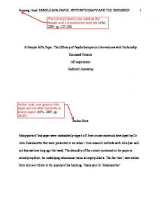 template for apa paper