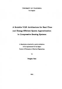 A Scalable VLSI Architecture for Real-Time and ... - Semantic Scholar