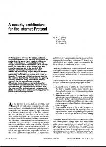 A security architecture for the Internet Protocol - Semantic Scholar