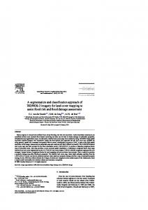 A segmentation and classification approach of IKONOS-2 ... - CiteSeerX