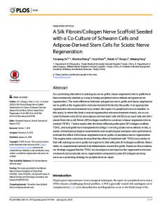 A Silk Fibroin/Collagen Nerve Scaffold Seeded with a Co ... - PLOS