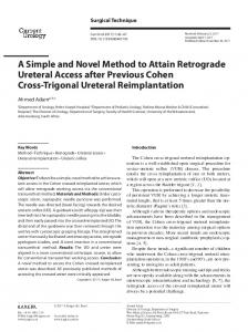 A Simple and Novel Method to Attain Retrograde ... - Karger Publishers