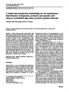 A simple electroanalytical methodology for the simultaneous ...