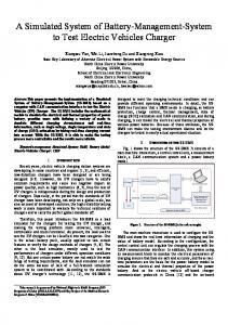 A Simulated System of Battery-Management-System to ... - IEEE Xplore
