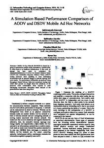 A Simulation Based Performance Comparison of AODV and DSDV ...