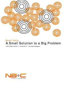 A Small Solution to a Big Problem - Network Building & Consulting