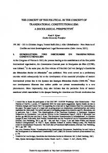 a sociological perspective - SSRN papers