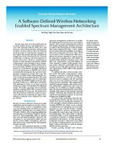 A Software-Defined Wireless Networking Enabled ... - IEEE Xplore