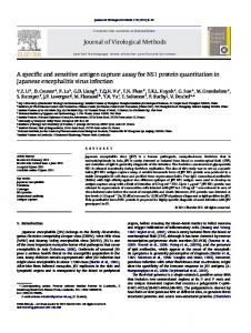A specific and sensitive antigen capture assay for NS1 protein ...