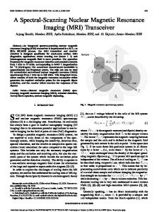 A Spectral-Scanning Nuclear Magnetic Resonance ... - CHIC - Caltech