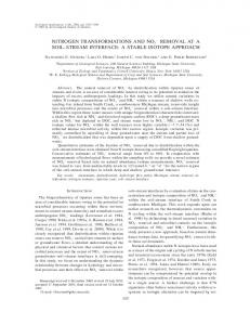 a stable isotope approach - Department of Biology