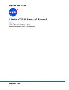 A Status of NASA Rotorcraft Research