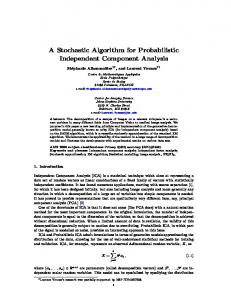 A Stochastic Algorithm for Probabilistic Independent