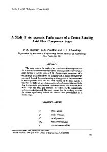 A Study of Aeroacoustic Performance of a Contra ... - Semantic Scholar