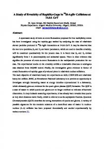 A Study of Erraticity of Rapidity-Gaps in Si-AgBr