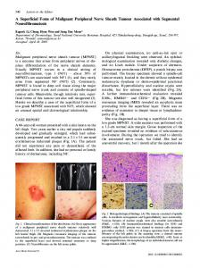 A Superficial Form of Malignant Peripheral Nerve Sheath Tumour ...