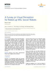 A Survey on Visual Perception for RoboCup MSL Soccer Robots