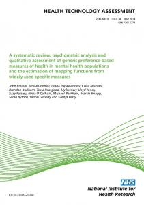 A systematic review, psychometric analysis and qualitative