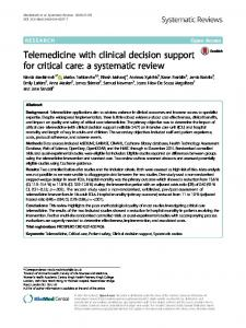 a systematic review - Springer Link