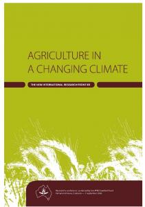 A Systems Approach to Climate Change Impacts on ...