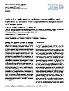A theoretical model on the formation mechanism ... - Atmos. Chem. Phys
