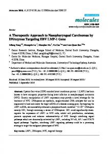 A Therapeutic Approach to Nasopharyngeal ... - Semantic Scholar