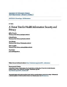 A Threat Tree for Health Information Security and Privacy