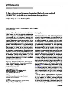 A three dimensional immersed smoothed finite element method (3D IS ...