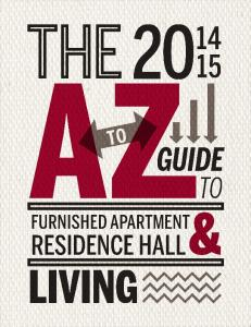 A to Z Guide to Residence Hall Living