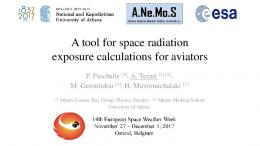 A tool for space radiation exposure calculations for aviators - STCE