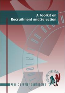 A Toolkit on Recruitment and Selection - Psc.gov.za