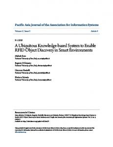 A Ubiquitous Knowledge-based System to Enable ... - Semantic Scholar