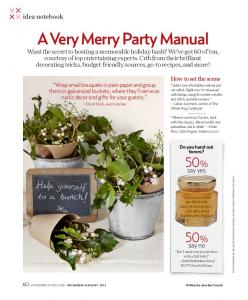 A Very Merry Party Manual