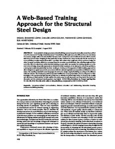 A webbased training approach for the structural ... - Wiley Online Library