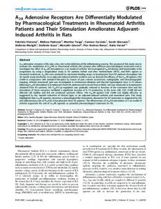 A2A Adenosine Receptors Are Differentially ... - Semantic Scholar
