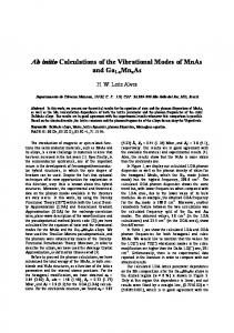 Ab initio Calculations of the Vibrational Modes of MnAs and