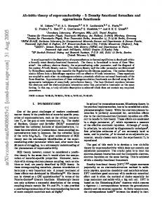 Ab-initio theory of superconductivity-I: Density functional formalism ...