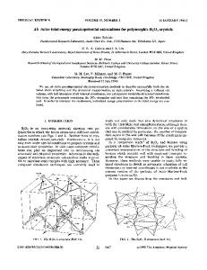 Ab initio total-energy pseudopotential calculations for polymorphic B_{2}