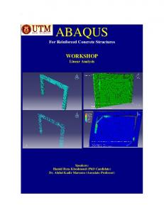 Writing User Subroutines with Abaqus - MAFIADOC COM