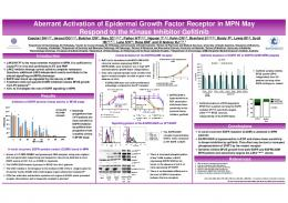 Aberrant Activation of Epidermal Growth Factor ...