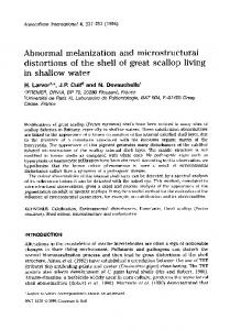Abnormal melanization and microstructural distortions ... - Springer Link