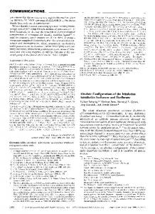 Absolute Configurations of the Inhalation Anesthetics Isoflurane and ...
