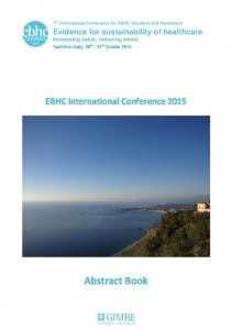 Abstract Book - EBHC International Conference 2017