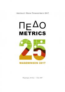 Abstract book - Pedometrics 2017