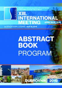 abstract book program - Sosort!