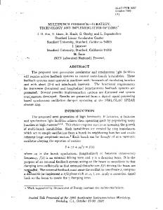 ABSTRACT INTRODUCTION ii + yi + w-J22 = j(t) - SLAC National ...