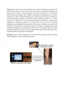 Abstract: This paper presents the development of an improved mobile ...